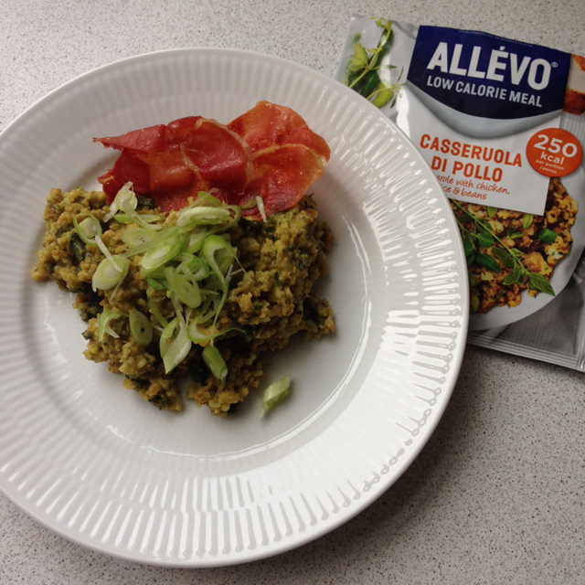 allevo low calorie meal 1