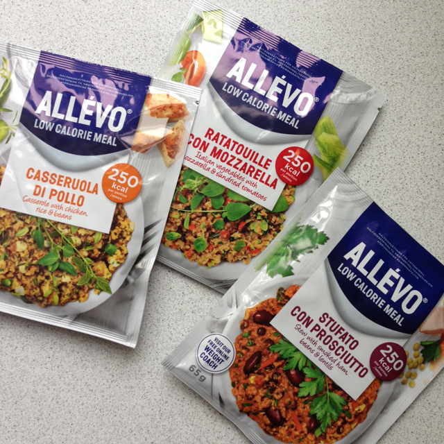 allevo low calorie meal 2