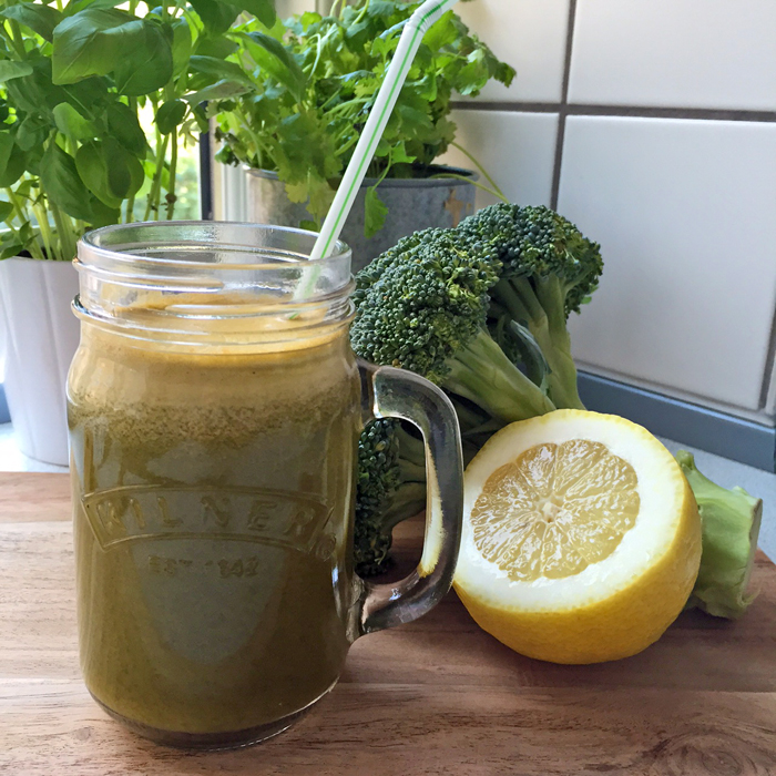 juice med broccoli